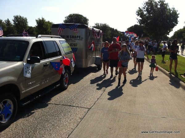 Coppell Parade Get You In Shape Fitness