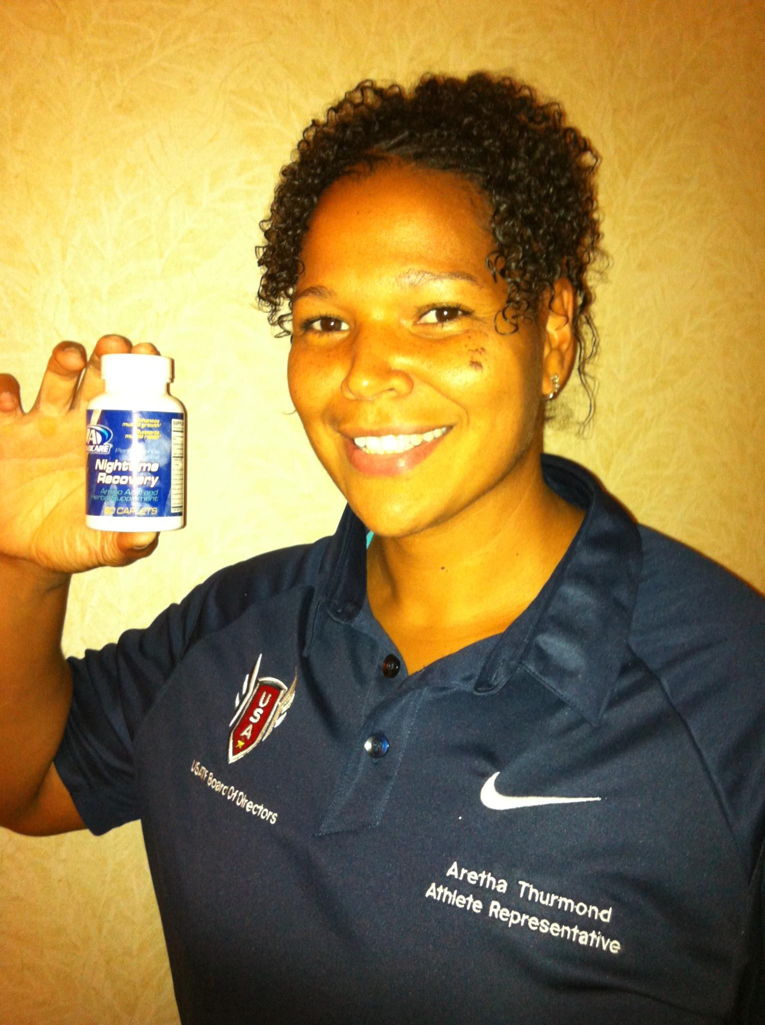 U.S. Discus Champion Aretha Hill-Thurmond