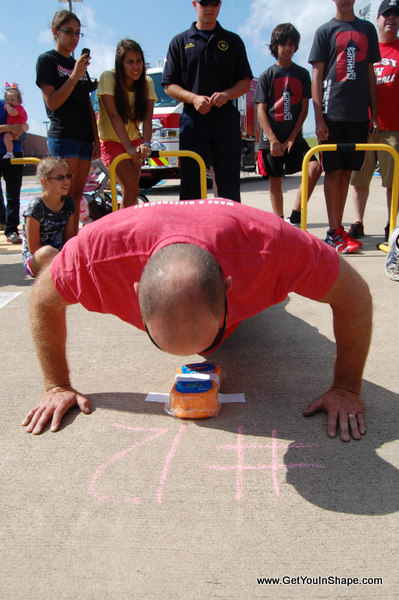Pushups For Charity Coppell