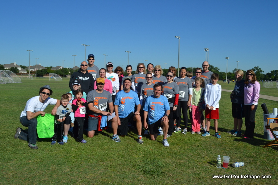 http://GetYouInShape.com Coppell 5k Benefitting Coppell Special Olympics