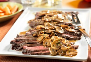 SteakWithMushrooms Recipe
