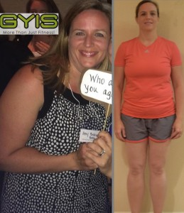 Since starting, Amy has lost more than 35 pounds is continuing to see progress!