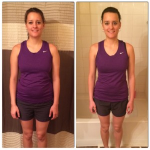 In 9 weeks, Felicia was able to get back to her Pre-Wedding weight!
