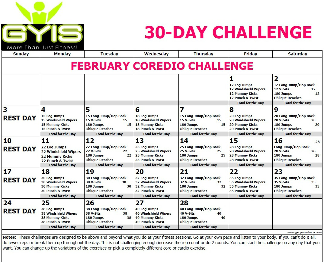 30 Day Coredio Challenge Feb 19